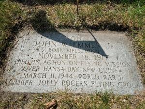 gravestone of John Emmer, Jr